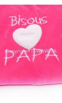 """pyjama """"Bisous pour papa"""""""