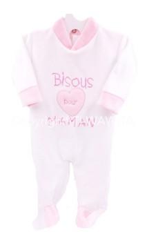 """pyjama """"Bisous pour maman"""""""