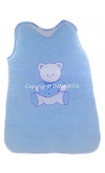 Gigoteuse bébé  - bleu