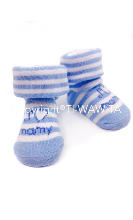 "Chaussettes ""J'aime mamy"""